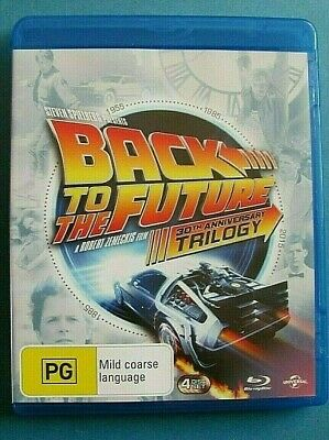 BACK TO THE FUTURE 1 + 2 + 3 BLU-RAY Trilogy