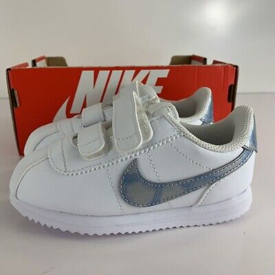 07c04a04f NEW NIKE BABY Cortez Basic SL Toddlers Shoes (904769-102) White ...