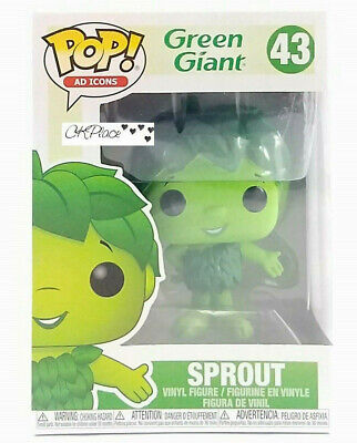 Funko Pop Ad Icons Green Giant Sprout #43 New In Hand