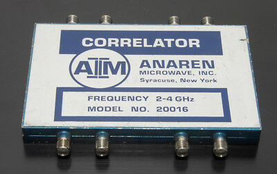 ANAREN 20016 CORRELATOR, 2-4 GHz, SMA CONNECTORS