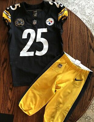 6dd603f96 PITTSBURGH STEELERS GAME Used Game Worn Pants Original 2001 Heavy ...