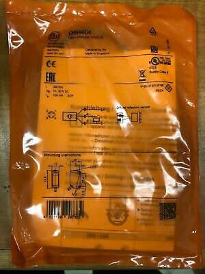 ifm EFECTOR O6H404 Photoelectric in Factory Bag* (same as O6H301)
