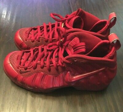 Nike Air Foamposite Pro Gym Red October Yeezy Mens Size 8.5