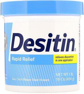 Desitin, Rapid Relief Cream, 16 oz (453 g)