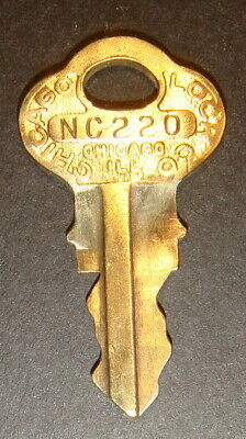 Original Northwestern NC220 Vending Key for Lock & Barrel Lock Peanut Gum ball
