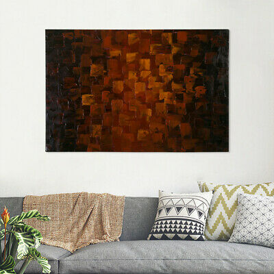 Hand Painted Modern Abstract Huge Wall Decorate Canvas Art Oil Painting Framed