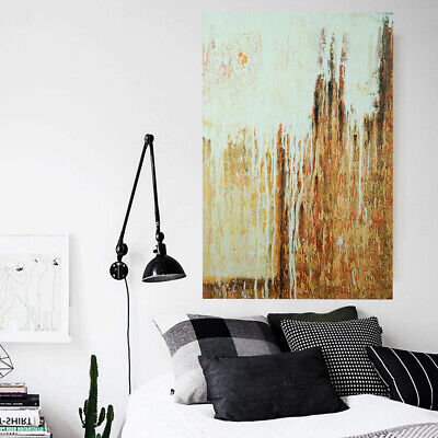Abstract Hand Painted Oil Painting Canvas Modern Wall Art Home Decor - Framed