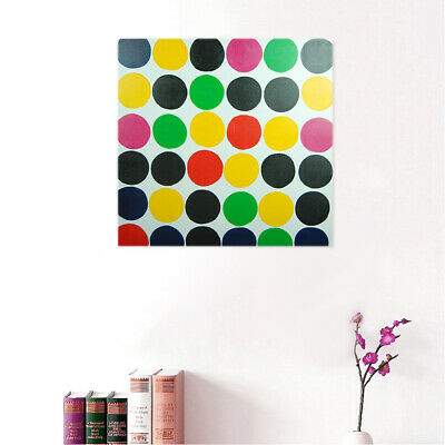 Modern Abstract Hand Painted Art Canvas Oil Painting Decor Framed - Circles