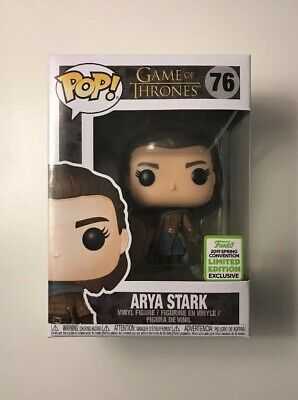 Funko Pop #76 Game of Thrones Arya Stark ECCC 2019 Spring Convention Exclusive