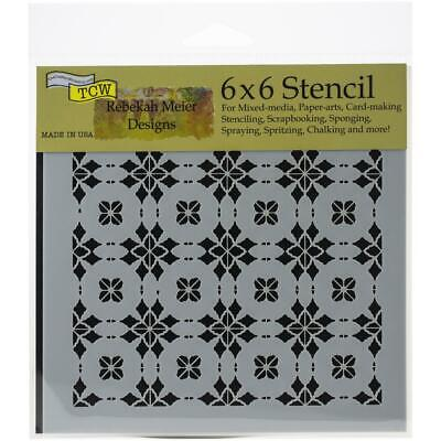 TCW - Stencil 6in. x 6in. -Circle Tiles