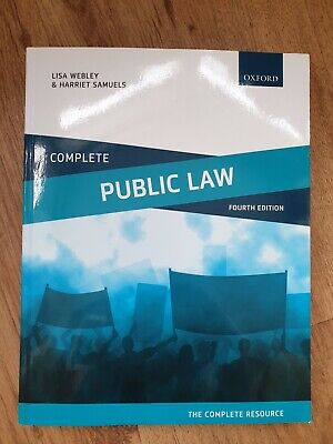 Complete Public Law: Text, Cases, and Materials by Samuels, Harriet,Webley, Lisa