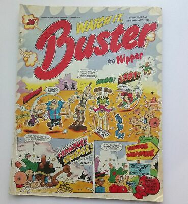 Buster and Nipper 23rd January 1988 Collectable Childrens Kids Comic UK Britain*