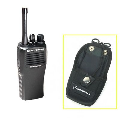 Motorola Nylon Case Holster HLN9701B for Radio Walkie Talkie Carrying w/ Belt Lo