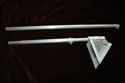 Long Handled Sand Scoop Approx 4ft 9ins with extension handle.Beaches & Streams