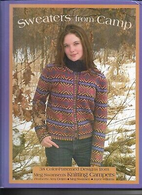 Sweaters From Camp. 38 Colour Patterned Knitting Designs.