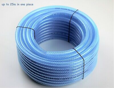 PVC Reinforced Cotton Braided Fuel Hose Unleaded Petrol Diesel Oil Line Pipe