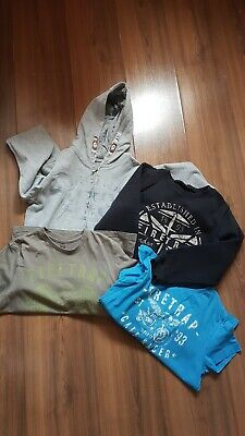 boys Firetrap summer bundle,T shirts, jacket and jumper age 9-11