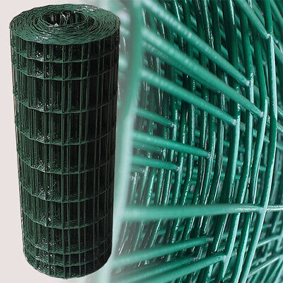 Green Plastic Garden Mesh Wire Ideal for Garden Fencing Fence 10mx0.6m 10mx0.9m