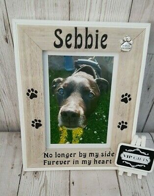 Personalised Dog Cat Pet Photo Frame Memorial Unique Keepsake gift