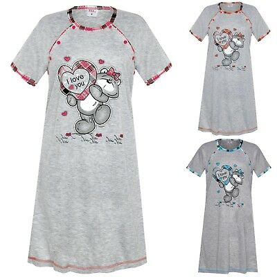 Maternity Women's Nightshirt Nursing Nightdress Pregnancy Breastfeeding 8 10