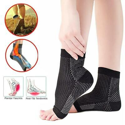 2daf1b694b 1 Pair Magnetic Foot Support Compression Socks Anti Fatigue Foot Sleeve