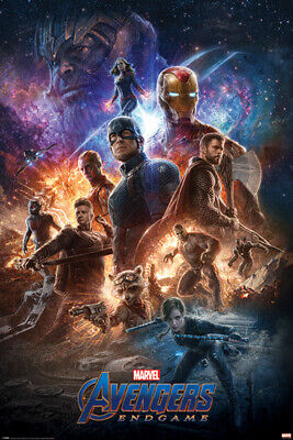 Avengers Endgame From The Ashes 24 X 36 Poster