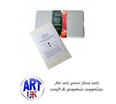 Frisk Professional Artists Keep/Stay-Wet Mixing Palette for Acrylic Colour Paint