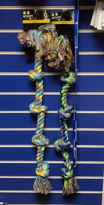 """Dog Puppy Play Giant Rope Tug toy 2 color 84cm /34"""""""