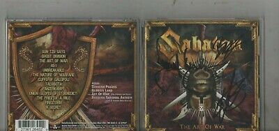 Sabaton – The Art Of War CD ( SIGNED BY THE BAND )