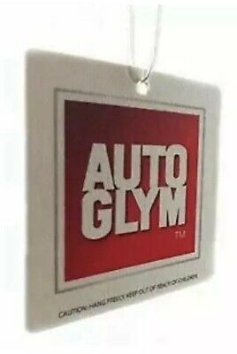5 x Autoglym Hanging Car Interior Air Freshener