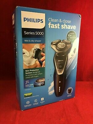 Philips  S5572/40 Wet & Dry Shaver Clean & Close Fast Shave - NEW