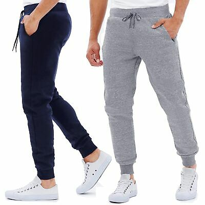 Pantaloni Tuta Uomo Casual Basic Sportivi con Elastico in Vita 3863IT