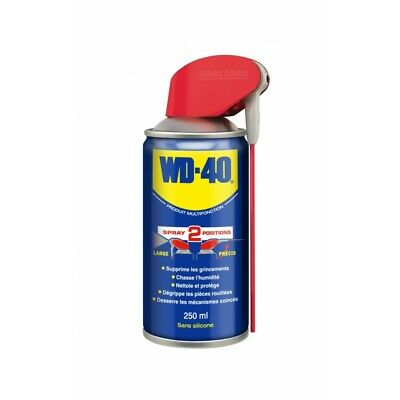 Spray multifonction WD40 250ml double-position (aérosol)