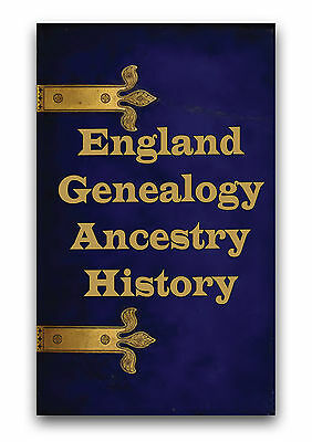 English Genealogy Ancestry 505 Rare Books on DVD England Heritage Family Tree A5