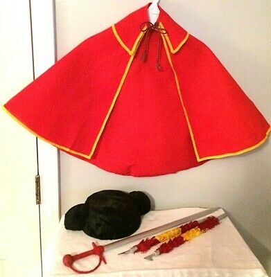 Vintage Child's BULLFIGHTER (TOREADOR or TORERO) OUTFIT