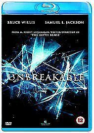 Unbreakable [Blu-ray], New, DVD, FREE & Fast Delivery