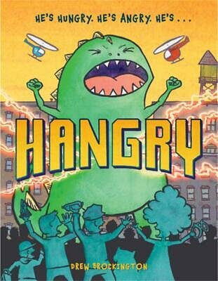 Hangry by Drew Brockington (English) Hardcover Book Free Shipping!