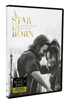 A Star Is Born, Film, 2 Discs (DVD, 2018, 2-Disc Set)