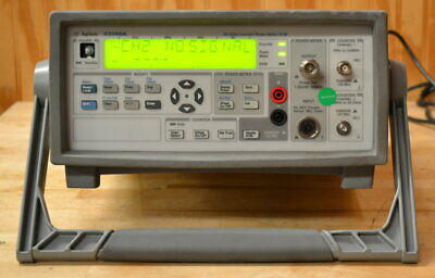 HP Agilent 53148A Microwave Frequency Counter/Power Meter/DVM 10hz-26.5GHz