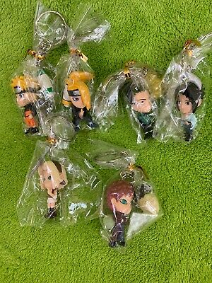 Lot of 6 Naruto Key Chains - BRAND NEW!!!!