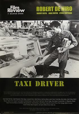 Taxi Driver 24 x 34 Film Review Movie Poster Robert DeNiro Used