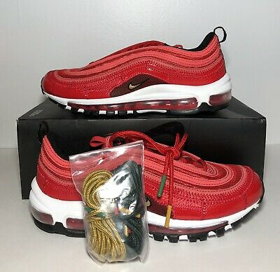 Nike Air Max 97 CR7 Portugal Red Patchwork Cristiano Ronaldo AQ0655 600 SZ11.5