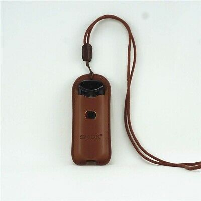 Lanyard PU Leather Case For Smok00 Nord Cover Sleeve Skin Pouch Carrying Holder