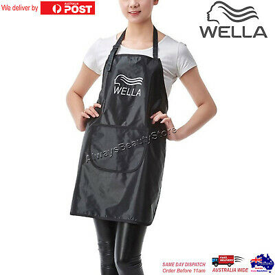 Hairdressing Waterproof Treatment Wella Apron Hair Cutting Bib Barber Black