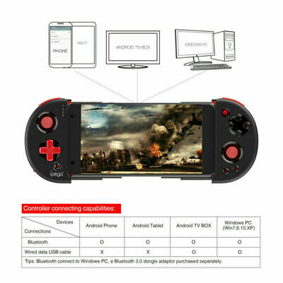 WIRELESS BLUETOOTH GAMEPAD Gaming Handle Controller For Android