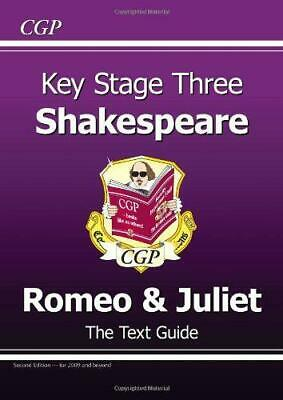KS3 English Shakespeare Text Guide - Romeo and Juliet, Richard Parsons, Good Con