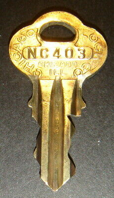 Original Northwestern NC403 Vending Key for Lock & Barrel Lock Peanut Gum ball
