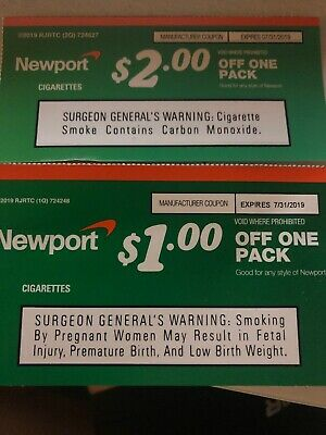 image relating to Newport Coupons Printable named Newport Cigarette Discount codes 2019