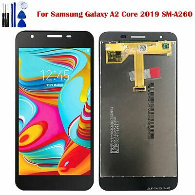 Black LCD Touch Screen Display Digitizer for Samsung Galaxy A2 Core 2019 SM-A260