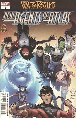War of the Realms New Agents of Atlas (Marvel) 1A 2019 Tan VF Stock Image